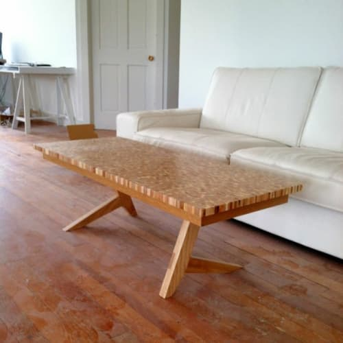 Tables by Steve Lawler seen at Private Residence, Tacoma - DNA Coffee Table