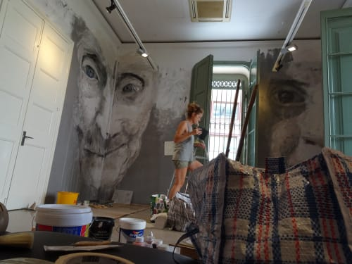 Murals by Laura9, Laura Tietjens seen at Sant Boi de Llobregat, Sant Boi de Llobregat - Alba