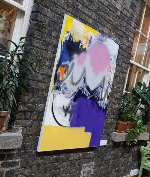Paintings by Neil Dunne Studio seen at Powerscourt Townhouse Centre, Dublin 2 - Landscape I