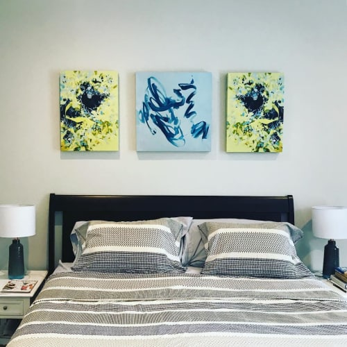 Paintings by Cameron Schmitz seen at Private Residence, Boston - Abstract Prints
