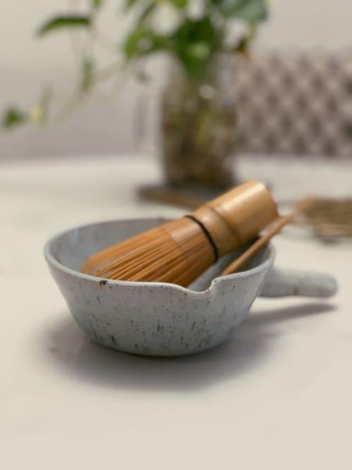 Tableware by cyan ceramics seen at Private Residence, New York - Ceramic Matcha Bowl