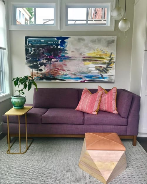 Paintings by Crysta Luke seen at Private Residence, Atlanta - Abstract Painting