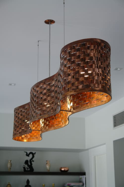 Pendants by James Russ seen at Private Residence, Auckland - Blackbridge