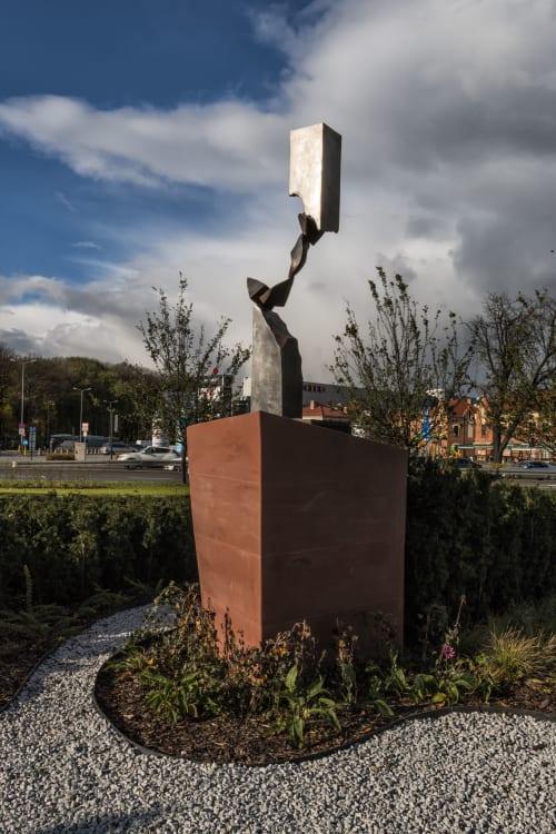 Public Sculptures by Hedva Ser seen at Kraków, Kraków - Garden of Hope