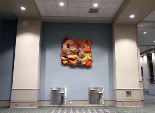 Art & Wall Decor by Margery Amdur seen at Pennsylvania Convention CENTER, Philadelphia - Amass #9