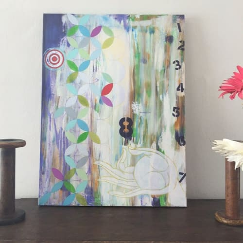 Paintings by Jodi Fuchs seen at Private Residence, Los Angeles - Prosperity