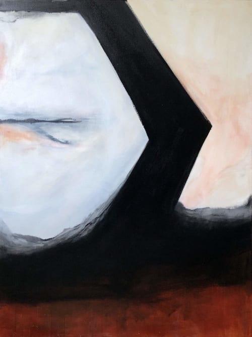 Paintings by Melanie Biehle seen at Cura Co, Seattle - Surrender