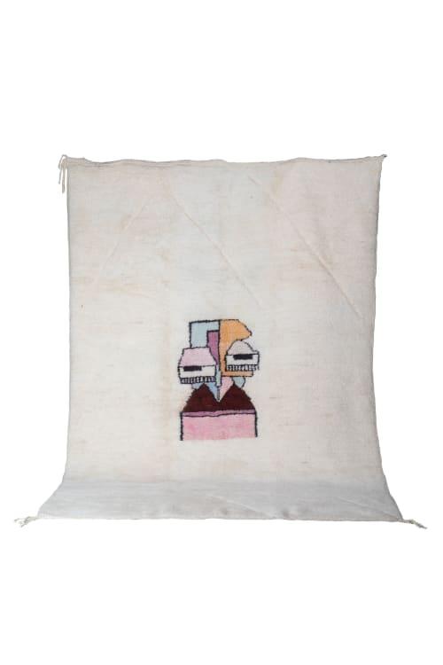Rugs by Kechmara Designs seen at Creator's Studio, Sacramento - Contemporary Moroccan Rug Abstract (picasso)