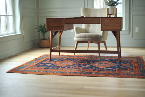 Rugs by The Loom House seen at Private Residence, Hartland - Jam