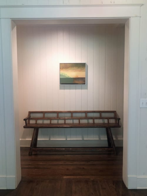 Paintings by Susan Maakestad seen at Private Residence, Memphis - Green Fog