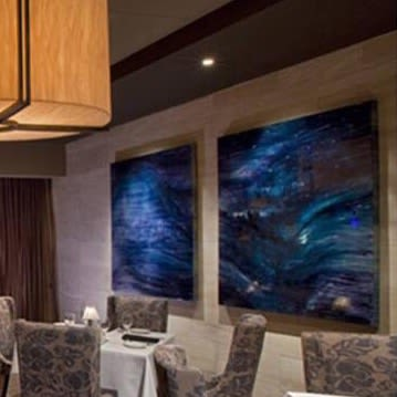 Art Curation by Stacy Solodkin seen at Eddie V's Prime Seafood, Scottsdale - The sea