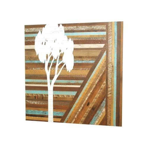 Paintings by Christopher Original at Nike World Headquarters, Beaverton - Eucalyptus Painting