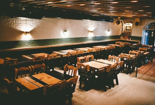 Interior Design by VeroKolt seen at Easy Tiger, Austin - Interior Design