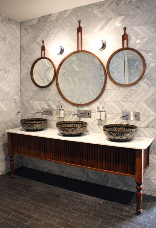 Furniture by Trit House seen at The Island Gold Coast, Surfers Paradise - Mirrors