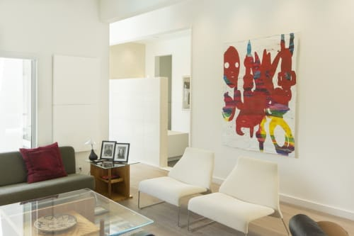 Paintings by Bo Joseph seen at Private Residence - Painting in private residence curated by Kinzelman Art Consulting