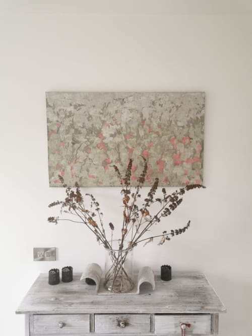 Wall Hangings by Joce & Co. Design seen at Private Residence - Poppy Field