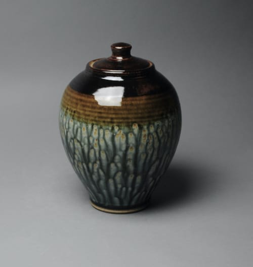 Vases & Vessels by John McCoy Pottery seen at Creator's Studio, West Palm Beach - Covered Jar