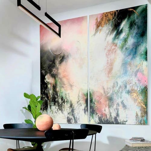 Paintings by Barbenvakil seen at Private Residence, New York - BarBenVakil , paintings