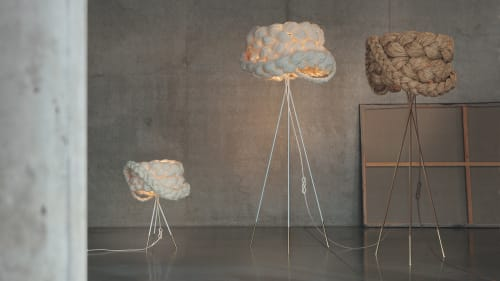Lamps by Marie Burgos Design seen at d&d Building, New York - THE BRIDE FLOOR LAMP - LIGHT - Large