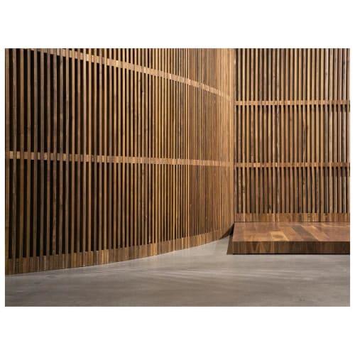 Wall Treatments by The Coast seen at Aireloom Showroom, Los Angeles - Screen Walls