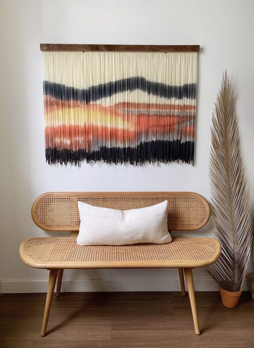 Wall Hangings by Kait Hurley Art seen at Private Residence, Los Angeles - Los Angeles Sunset