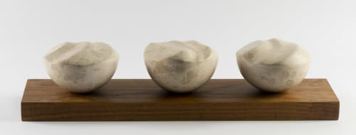 Sculptures by Gail Morris Sculptor seen at Private Residence, Momjan, Momjan - Continuous Movement