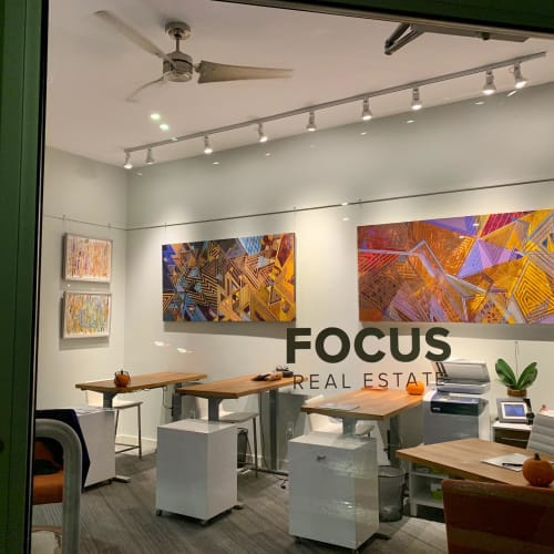 Paintings by Rae Heller seen at Studio in Boston, MA, Boston - The Art of Asking