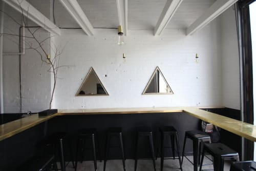 Art & Wall Decor by Borien Studio seen at Blood Brothers Brewing, Toronto - Custom Mirrors