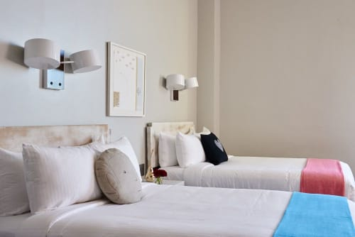 Quirk Hotel, Hotels, Interior Design