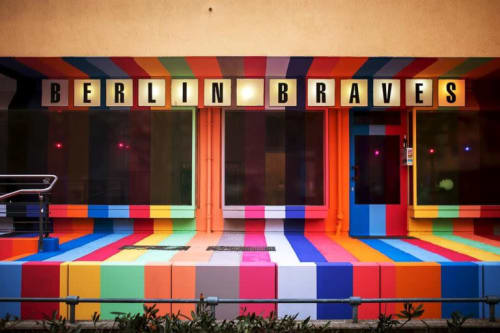 Murals by Kuba seen at Berlin Braves™, Berlin - Berlin Braves Project