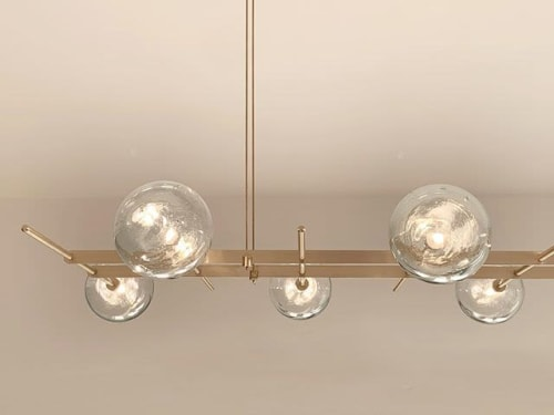 Chandeliers by CONTAIN ESTUDIO seen at New York, New York - MODULAR FLAT (8 LAMPS)