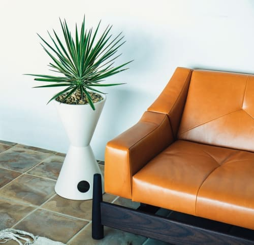 Vases & Vessels by Vessel USA Inc. seen at Private Residence, Escondido - TH2 hourglass planter