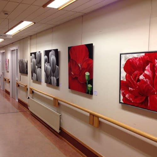 Paintings by Janine Paintings seen at Salem - Wonen met zorg, Ridderkerk - Paintings