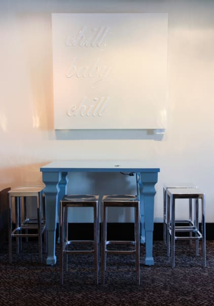 Art & Wall Decor by Lucky Rapp seen at W San Francisco, San Francisco - chill baby chill