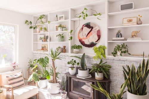Wall Hangings by Laura Ambrosio Art seen at Private Residence, Petaluma - Changing Seasons