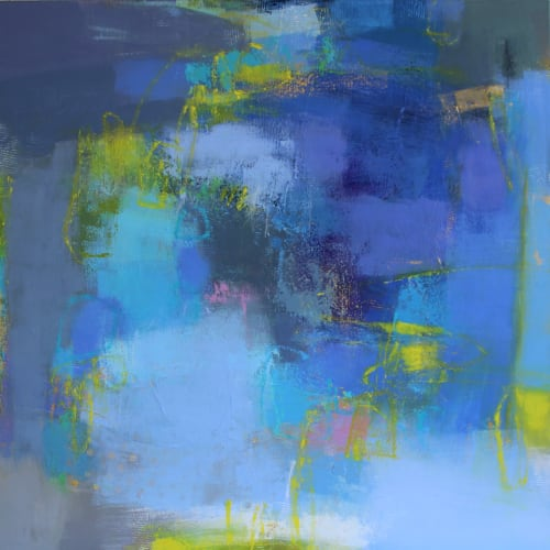 Paintings by Valerie McMullen seen at Town Studio, Scottsdale - A Twist Of Lemon