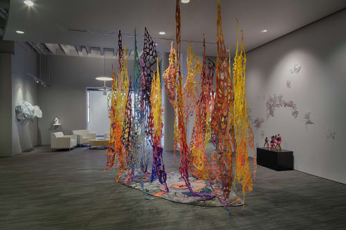 Sculptures by Leisa Rich at EYP/Stanley Beaman & Sears, Atlanta - Willow, Weep For Me