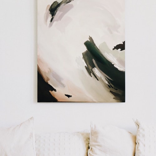 Paintings by Lauren Fuhr Design Co. seen at Private Residence, Fort Collins - Abstract Painting