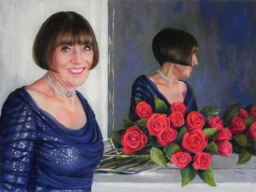 Paintings by Daggi Wallace seen at California - Portrait