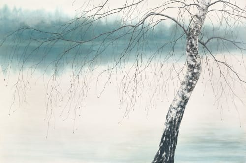 Paintings by Christine Gedye seen at Private Residence, Seattle - Graceful Bough