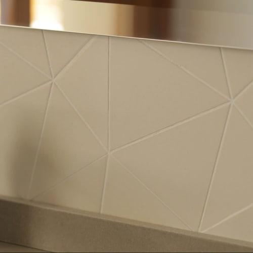 Tiles by Huguet Mallorca seen at Boutique Hotel Calatrava, Palma - Forum Tiles and Wash Basin