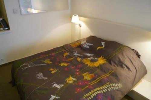 Linens & Bedding by Harriet Browne seen at Hotel NH Brussels Bloom, Bruxelles - Bloom