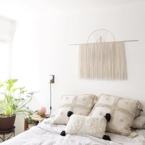 Wall Hangings by Attalie Dexter Home + Accessories at Private Residence, Los Angeles - Oversized Wall Hanging