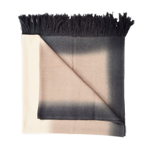 Linens & Bedding by Studio Variously seen at Creator's Studio, Birmingham - Toast Merino Throw