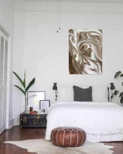 Paintings by Julia Dover Art seen at Private Residence, Sydney - SWEETDREAMS