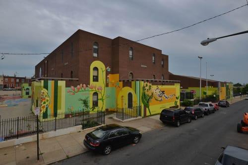 Marion Wilson - Street Murals and Public Art