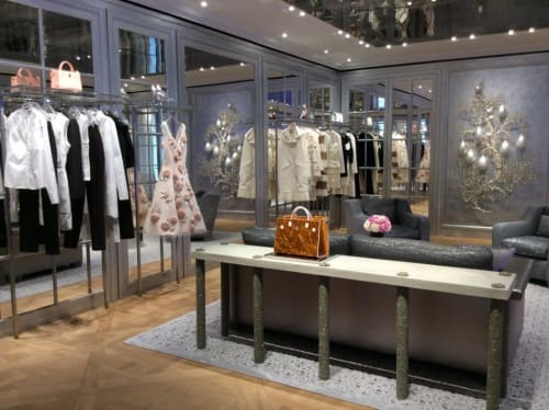 Sculptures by Timothy Horn seen at Dior, New Bond St., London - Gorgonia 4