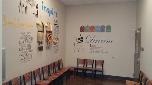 Art & Wall Decor by Kerri Warner seen at 3333 3rd Ave, Sacramento - Sacramento Food Bank and Family Services Job Smart Clothing Program