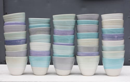 Cups by Natalie Bonney Ceramics seen at Penryn, Penryn - Small Coffee Beakers
