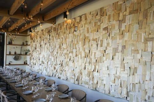 """Wall Hangings by ANTLRE - Hannah Sitzer seen at Basalt, Napa - """"Time"""""""
